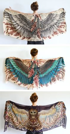 Shovava Wearable Art scarves and clothing
