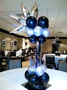 23 best balloon centerpieces images balloon centerpieces balloon rh pinterest com