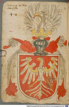 Ortenburger Wappenbuch Bayern, 1466 - 1473 Cod.icon. 308 u  Folio 70v