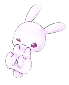 Kawaii Bunny Just For you con retoque digital ^-^ Utilize MagiX Photo Clinic 6X espero les guste !