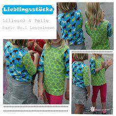 lillesol & pelle Schnittmuster/ pattern: Longsleeve