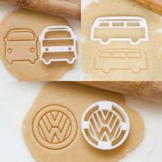 Nice Volkswagen VW Bus Cookie Cutter Das VW Accessories Check more at car. - Nice Volkswagen VW Bus Cookie Cutter Das VW Accessories Check more at carsboard. Transporteur Volkswagen, Vw T1, Vw Caravan, Bus Camper, Vw Accessories, Bugs, Combi Wv, Vw Beach, Vw Camping