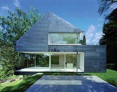 Family House at Seeheim, Germany by Fritsch + Schlüter Architekten