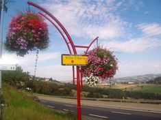 how to make city more beautiful? atech city entrance with flowers