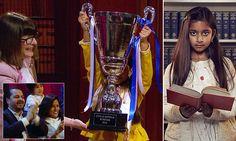 Britain's brightest child Rhea, 10, is crowned winner of Child Genius
