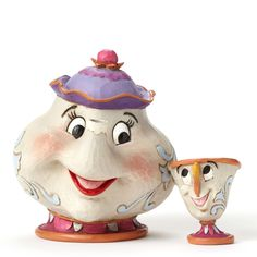 Jim Shore - Mrs. Potts & Chip from Beauty and the Beast