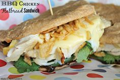 Panera Bread Restaurant Copycat Recipes: Mexican Chicken Flatbread