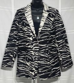 Womens Chicos Size 0 Coat Small Jacket Business Animal Print Soft Warm Dressy | Clothing, Shoes & Accessories, Women's Clothing, Coats & Jackets | eBay!