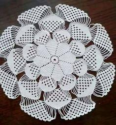 Baby braids newest knitting patterns - Part 2 - Knittting Crochet Crochet Circles, Crochet Doily Patterns, Crochet Squares, Thread Crochet, Filet Crochet, Crochet Designs, Knitting Patterns, Knit Crochet, Crochet Home