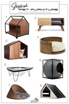 Pet Furniture, Modern Cat Furniture, Round Dog Bed, Cat House Diy, Cat Playground, Cat Enclosure, Hamster, Cat Room, Diy Stuffed Animals