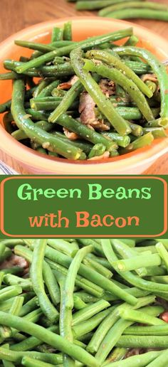 Green beans with bacon is a great way to get kids, old and young, to eat their vegetables. Add bacon and they just taste better. This dish is the perfect side dish for any nice dinner. I love to add bacon to fresh green beans; the bacon just seems to make it amazing. Seasoned with just a little salt and pepper and don't forget the onions and garlic. Sometimes I like to replace my salt and pepper with just a little bit of seasoning salt, but that is strictly up to you.