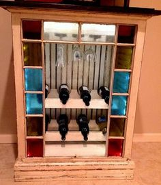 Our wine rack.