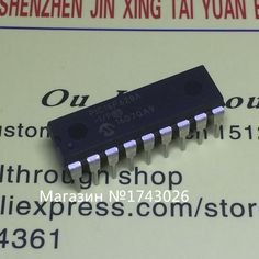 Original 3 pcs PIC16F628A-I/P PIC16F628 microcontroller chip DIP-18 integrated circuit IC ...