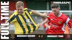 FT: Harrogate Railway 0-8 Harrogate Town    @therailfc @Edwhite2507