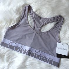 •Calvin Klein Bralette• Calvin Klein modern micro Bralette/second skin fit unlined wire-free cups/wide stretch strap for comfort/non-adjustable racerback for easy of movement/pull on style/exceptionally smooth elastic underband with CK logo/luxe stretch microfiber/body: 75% polyamide/25% elastane/new with tags/thanks for looking                           ❌No Trades❌ Calvin Klein Intimates & Sleepwear Bras