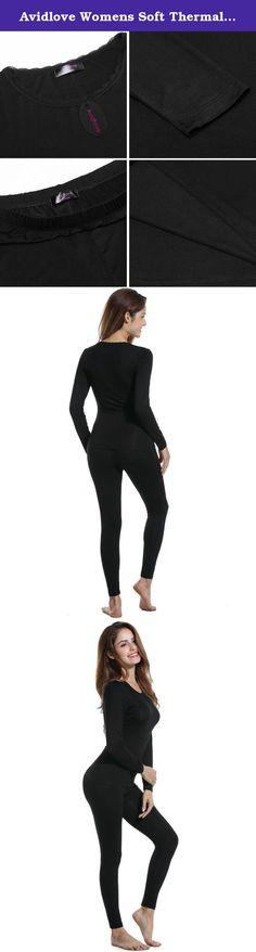 c1ea02bfdbc Avidlove Womens Soft Thermal Underwear Set Top   Bottom Long Johns Set PJS.  Avidlove Women s