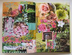 MakeArtBeHappy: Gluebook pages
