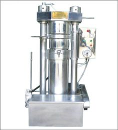 Hydraulic oil press machine is suitable for cold pressing or hot pressing many oil seeds and oil plant, like sesame, pine nut, walnut, etc. Olive Oil Store, Gadgets, Edible Oil, Press Machine, Pure Oils, Sunflower Oil, Raw Materials, French Press, Seed Oil