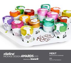 The Dieline Package Design Awards 2013: Non Alcoholic Beverage, Merit - The Art of Tea Collection
