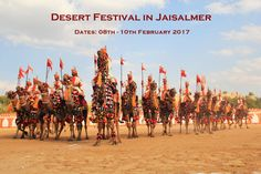 If you want to explore various colors of Rajasthan, be part of Desert festival in Jaisalmer.