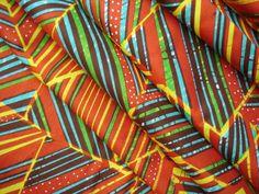 VLISCO Real Dutch Wax Block Print A1605 African Fabric Half Yard / Tela Africana
