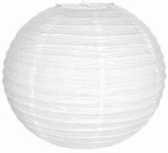 10  White Paper Lantern