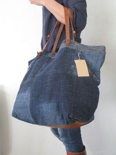 Resultado de imagen para bolsas en jeans