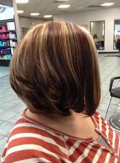 Stacked Bob Hairstyle stacked bob haircut side view easy everyday hairstyles for short hair 2016 30 Popular Stacked A Line Bob Hairstyles For Women