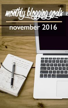 Monthly Blog Goals: November 2016   CosmosMariners.com