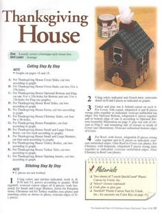 Holiday Birdhouses Pg 12