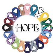 hope ribbons