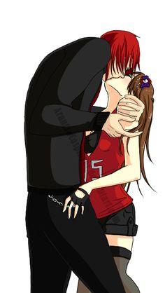 Kiss me (Castiel and KuraiFernandez) by ArantxaCosplayer on DeviantArt
