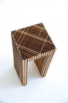 MDF Chair prototype 02