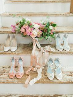 Have An Inquiring Mind Girls Wedding Bridesmaid Shoes Ivory Satin Ribbon Bnib Kids' Clothing, Shoes & Accs