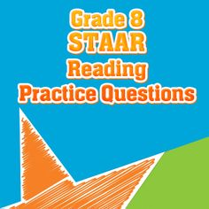 Your 8th grade students will benefit from these free STAAR Reading Practice Questions. These STAAR reading practice questions will give your 8th grade students the chance to understand what will be expected of them on the actual STAAR reading test section. #staar #staarreading