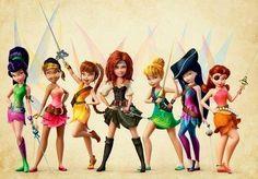 Disney fairies via www.Facebook.com/DisneylandForMisfits