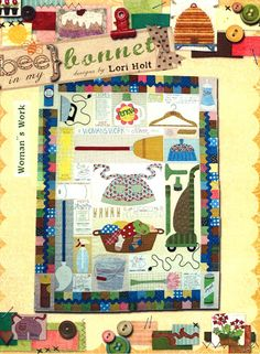 Womans Work Quilt Pattern from Bee In My Bonnet by Pipersgirls