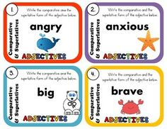 Basic Grammar, Grammar And Punctuation, Teaching Grammar, Kids Up, Cooperative Learning, Parts Of Speech, Learning Tools, Elementary Teacher, Task Cards