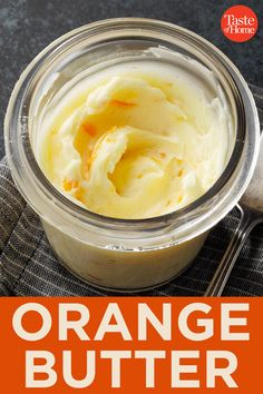 This flavored orange butter is so simple and easy to make. Flavored Butter, Homemade Butter, Homemade Sauce, Jam Recipes, Canning Recipes, Orange Butter Recipe, Herb Butter, Body Butter, Chutney