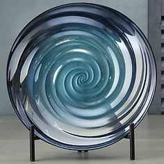 Swirl Bowl and Stand