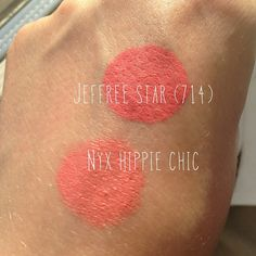 Jeffree Star (714) and NYX Hippie Chic - gorgeous for summer!