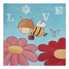 Buz The Honey Bee Poster