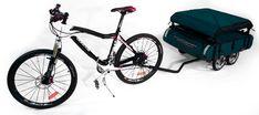 Kamp-Rite Bicycle Trailer: Meet the Midget Bushtrekka #bike #bicycle #trailer More: http://store.kamprite.com/home.php?cat=250