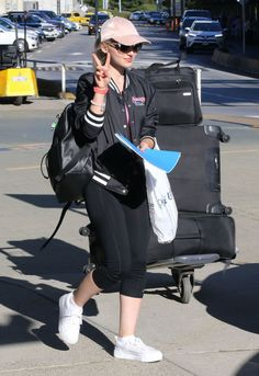 Dove Cameron // Arriving at Vancouver International Airport