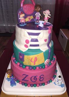 Doc mc stuffin Cake zum Geburtstag meiner kleinen