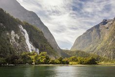 """""""Milford Sound Falls, New Zealand """" by Soggybrick in EarthPorn"""