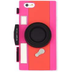 kate spade new york camera-shaped jelly iPhone 6/6s case ($26) ❤ liked on Polyvore featuring accessories, tech accessories, phone cases, phone, cases, electronics, geranium vivid sn and kate spade