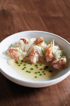 Lobster en Consommé with Pink Lady Apple Granité & Fennel from Brad McDonald at Governor - David Yellen