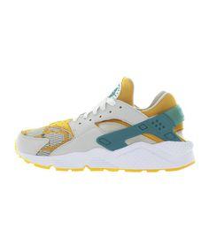 quality design 78ab6 475b2 Nike Air Huarache Run PA (Light BoneRadiant Emerald-Canyon Gold)
