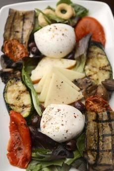 Build a platter of antipasto, skip traditional dinner at the North End's Pulcinella Mozzarella Bar e Ristorante